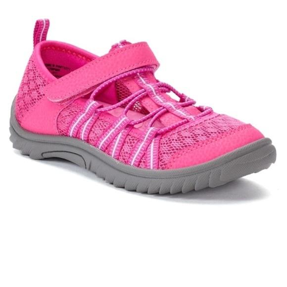 Mib So Stilts Big Girls Pink Shoe Sz 3 Youth Nwt